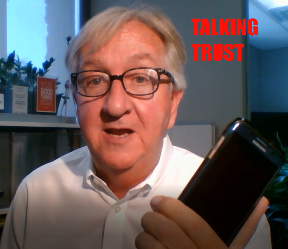 Talking Builds Trust